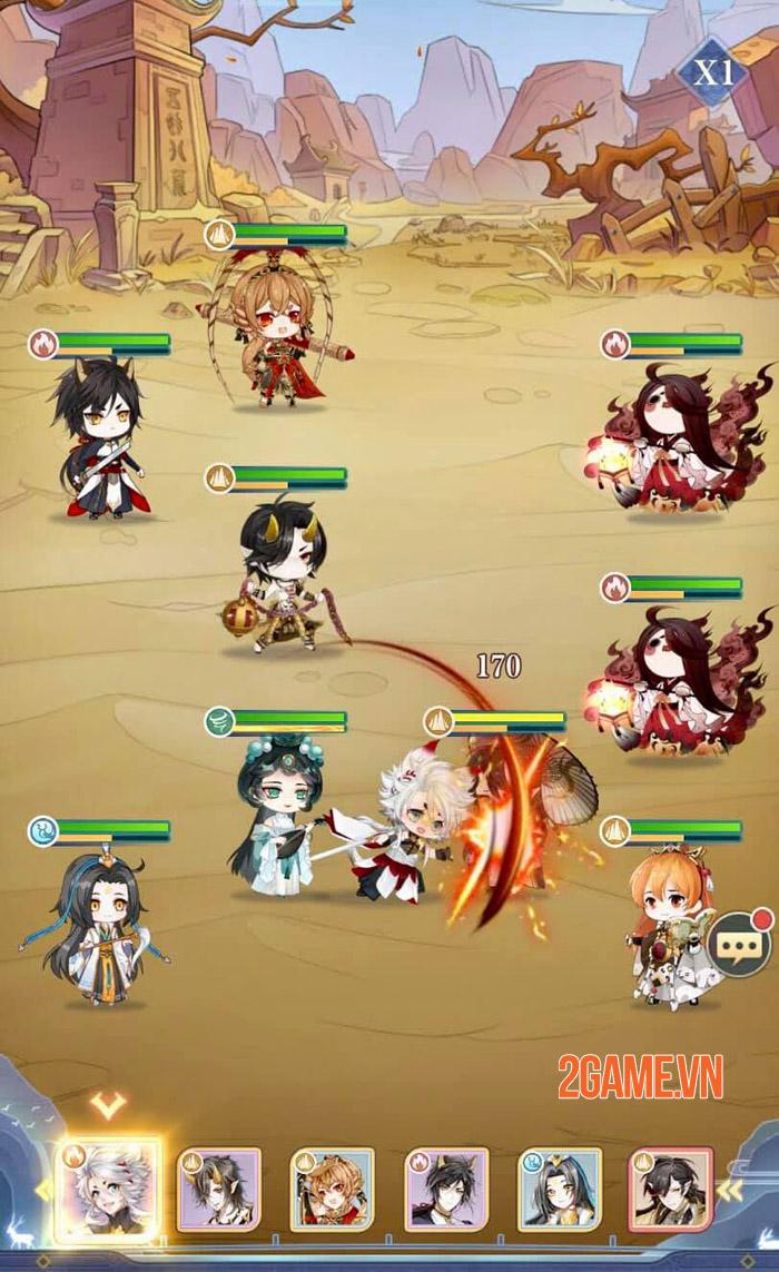 Orient Heroes - Giải trí nhẹ nhàng trong thế giới thần thoại 2