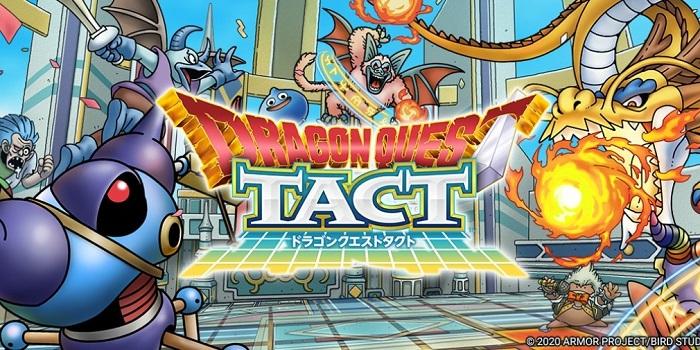 Game đánh theo lượt thú vị Dragon Quest Tact mở đăng kí trước toàn cầu 0