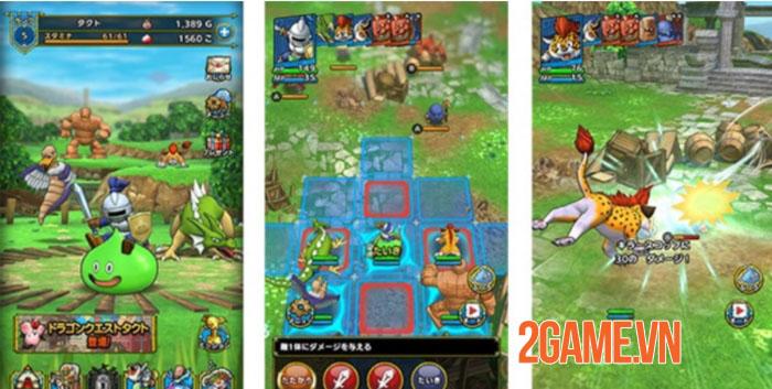 Game đánh theo lượt thú vị Dragon Quest Tact mở đăng kí trước toàn cầu 1