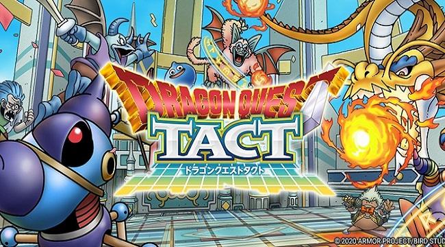 Game đánh theo lượt thú vị Dragon Quest Tact mở đăng kí trước toàn cầu