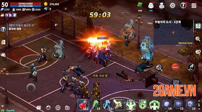Zone4 Mobile - Đỉnh cao võ thuật đối kháng diệt thây ma 0