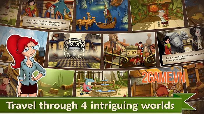 May's Mysteries - Game phiêu lưu giải đố lấy cảm hứng từ Giáo sư Layton 3