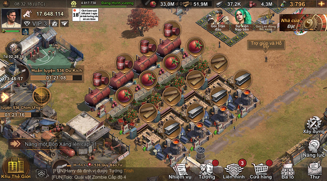 """Không cần """"bo"""" đẹp, những công trình State of Survival vẫn hoạt động hiệu quả"""