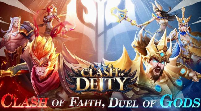 Clash of Deity Mobile – Chư thần hỗn chiến mở đăng ký trước