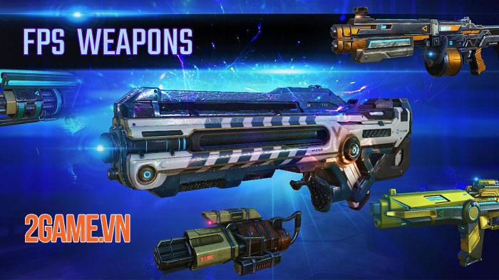 Arena of Legends: FPS CyberPunk Shooting Game - Game bắn súng đang HOT hiện nay 2