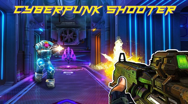 Arena of Legends: FPS CyberPunk Shooting Game – Game bắn súng đang HOT hiện nay