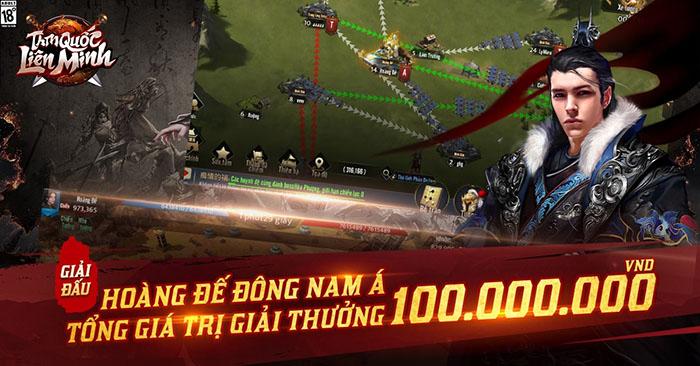 Tam Quốc Liên Minh tổ chức giải đấu Hoàng Đế ASEAN, thưởng 100 triệu cho gamer chiến thắng 4