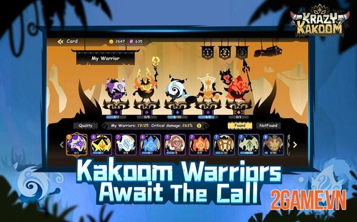 Krazy Kakoom - Chiêm ngưỡng chiến tranh với góc nhìn mới lạ 1