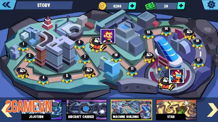 Stickman Heroes Fight - Nhẹ mà hay với người que anh hùng biến 1
