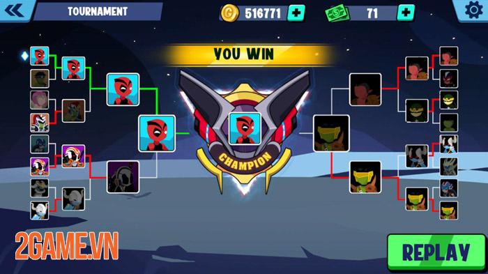 Stickman Heroes Fight - Nhẹ mà hay với người que anh hùng biến 2