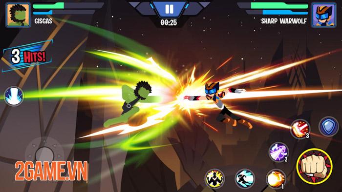 Stickman Heroes Fight - Nhẹ mà hay với người que anh hùng biến 4