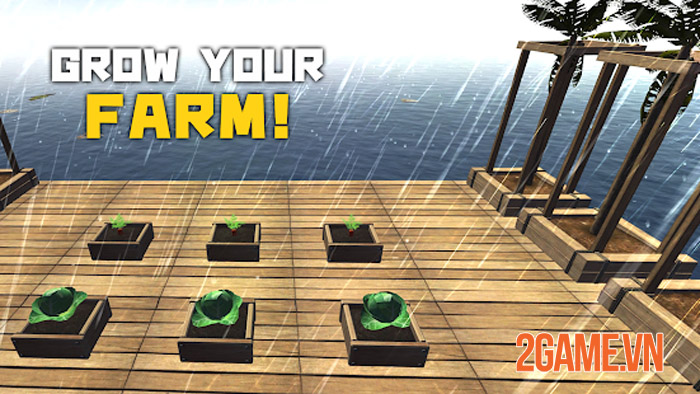 Survival and Craft: Crafting In The Ocean - Nhập vai sinh tồn giữa biển 2