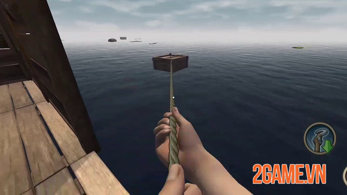 Survival and Craft: Crafting In The Ocean - Nhập vai sinh tồn giữa biển 0