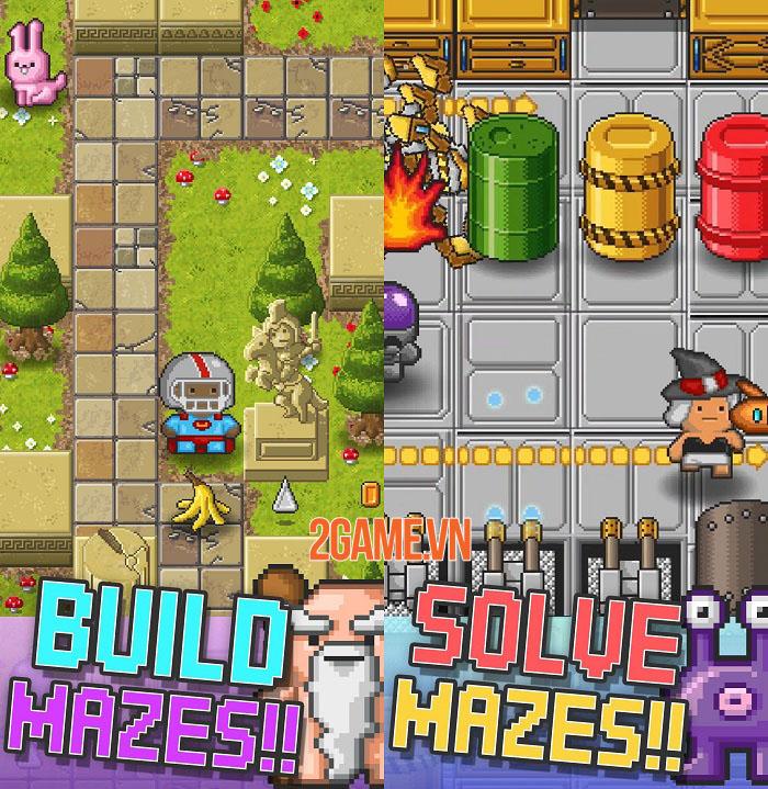 Mazecraft được tái phát hành trên mobile cho cả iOS và Android 1