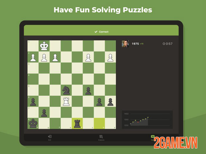 Chess Mobile - Nhẹ mà hay vừa chơi vừa học với Cờ Vua Mobile 0