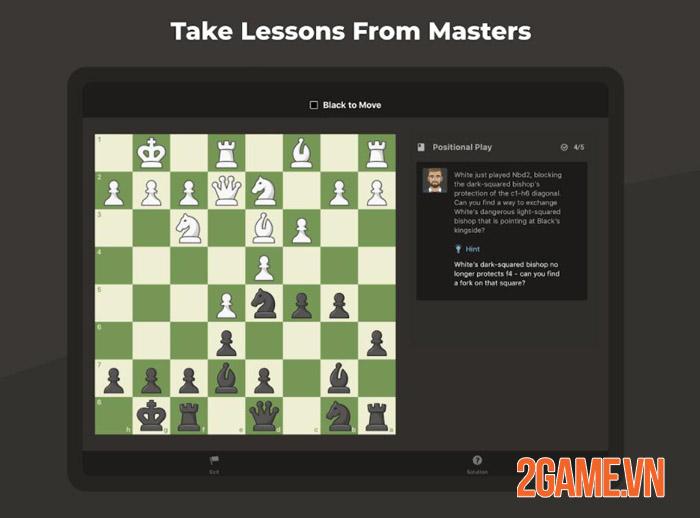 Chess Mobile - Nhẹ mà hay vừa chơi vừa học với Cờ Vua Mobile 2