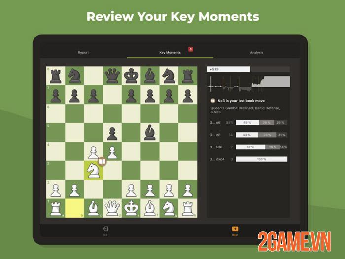 Chess Mobile - Nhẹ mà hay vừa chơi vừa học với Cờ Vua Mobile 1