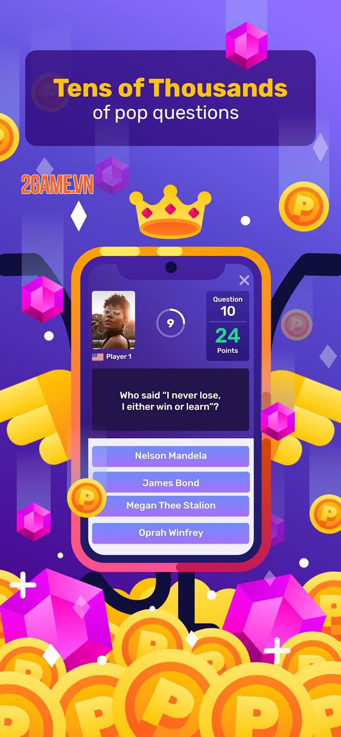 Game nổi tiếng trên Facebook Trivia Blast ra mắt phiên bản mobile 2