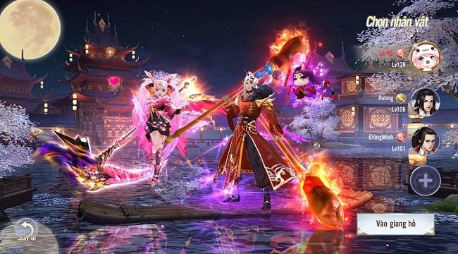 Thiên Ngoại Giang Hồ quy tụ những anh hùng Võ Lâm từ trong game cho đến đời thực