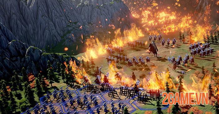 Epic War: Thrones - Game chiến thuật Tam Quốc với đồ họa đẹp như mơ 2