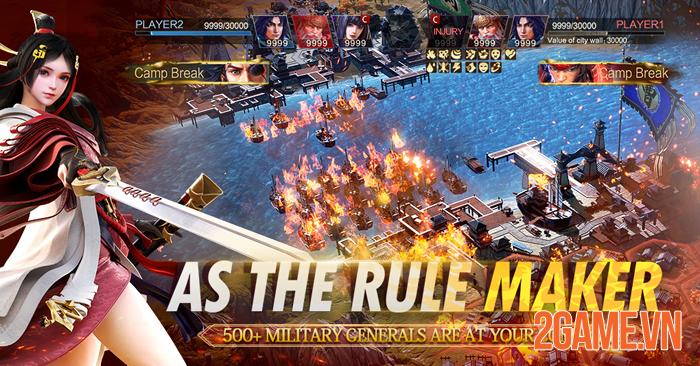 Siêu phẩm Epic War: Thrones chuẩn bị ra mắt phiên bản Việt hóa 2