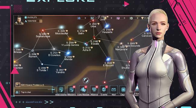 Infinite Galaxy Mobile – Cách đơn giản nhất để thám hiểm vô hạn thiên hà