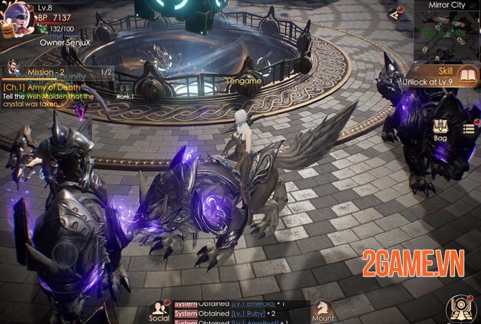 Dark Nemesis Mobile - Cực phẩm PK rộng cửa chào đón game thủ 4