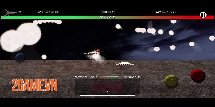Space Defender 3D - Game bắn súng không gian cuộn cảnh ra mắt iOS 0