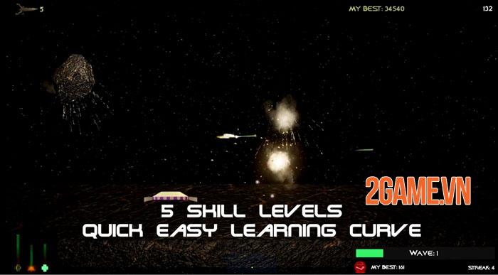 Space Defender 3D - Game bắn súng không gian cuộn cảnh ra mắt iOS 1