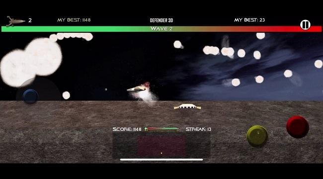 Space Defender 3D – Game bắn súng không gian cuộn cảnh ra mắt iOS
