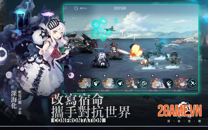 Dark Tide: Deep Sea Awakening - Game waifu tàu chiến hấp dẫn 0
