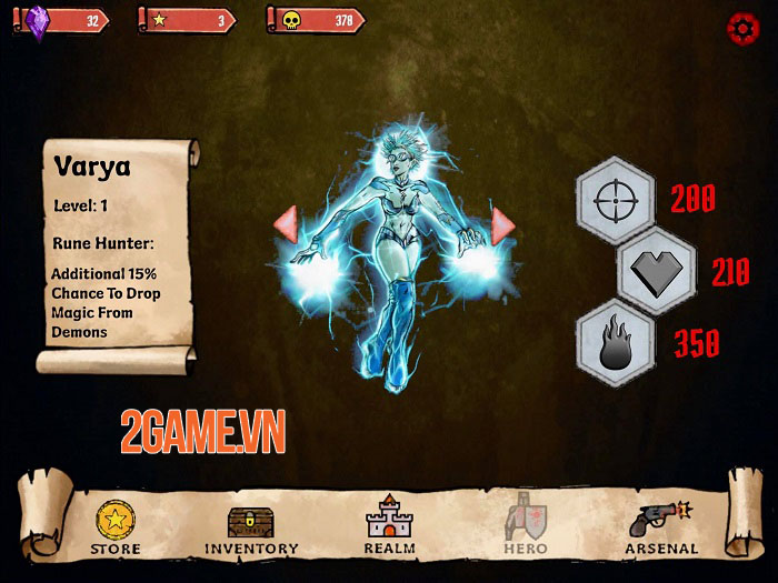 Demon Realms - Game bắn súng hành động với các yếu tố RPG 2