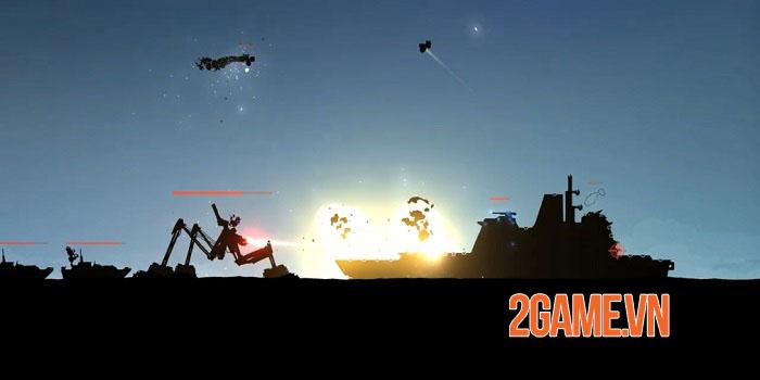 Battlecruisers - Game chiến thuật thời gian thực 2D khai mở bản beta 0