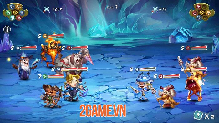 Ancient Fantasy - Game nhập vai nhàn rỗi hệ cổ điển với hơn 200 anh hùng 2