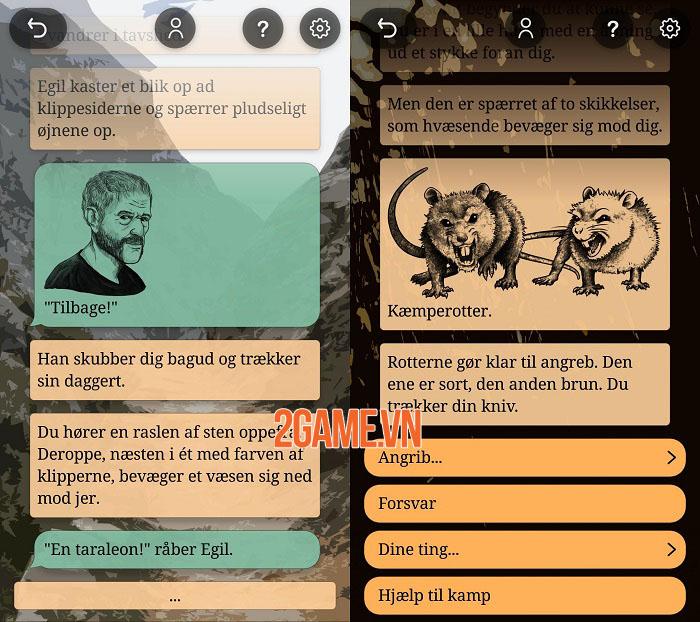 Serania - Path of the Scion: Game nhập vai phiêu lưu bối cảnh giả tưởng Bắc Âu 1