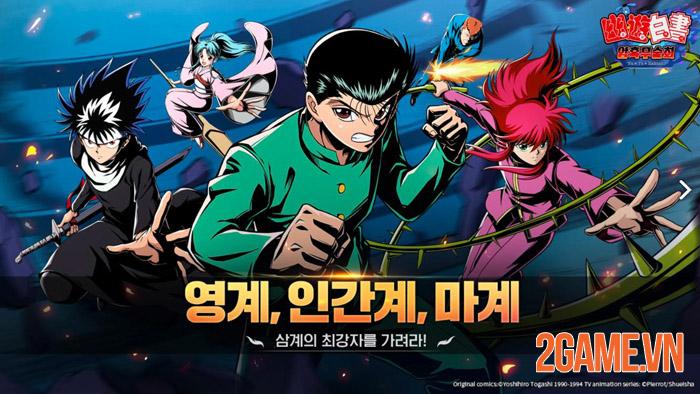 YuYu Hakusho: Dark Martial Arts - Nhất Dương Chỉ tái xuất 1