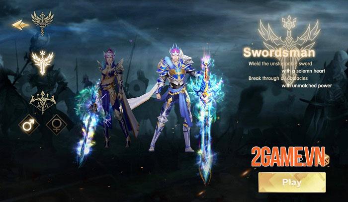 Throne of Glory - Game nhập vai giả tưởng với các hiệu ứng không thể rời mắt 0