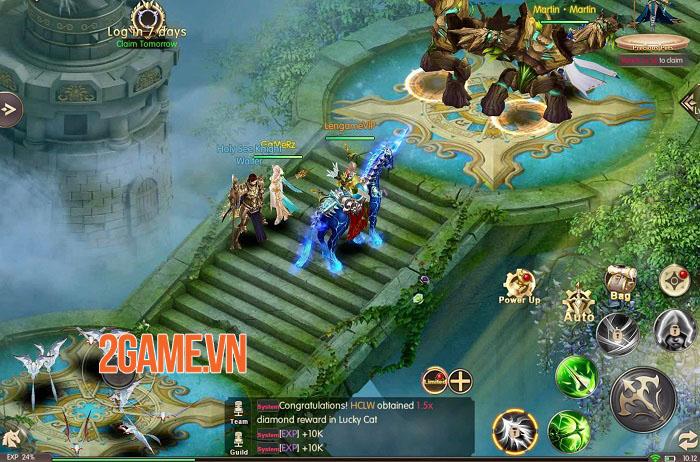 Throne of Glory - Game nhập vai giả tưởng với các hiệu ứng không thể rời mắt 1