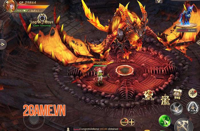 Throne of Glory - Game nhập vai giả tưởng với các hiệu ứng không thể rời mắt 2