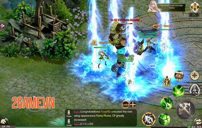 Throne of Glory - Game nhập vai giả tưởng với các hiệu ứng không thể rời mắt 4