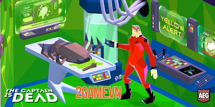 The Captain is Dead - Bản mobile của board-game khoa học viễn tưởng cùng tên 0