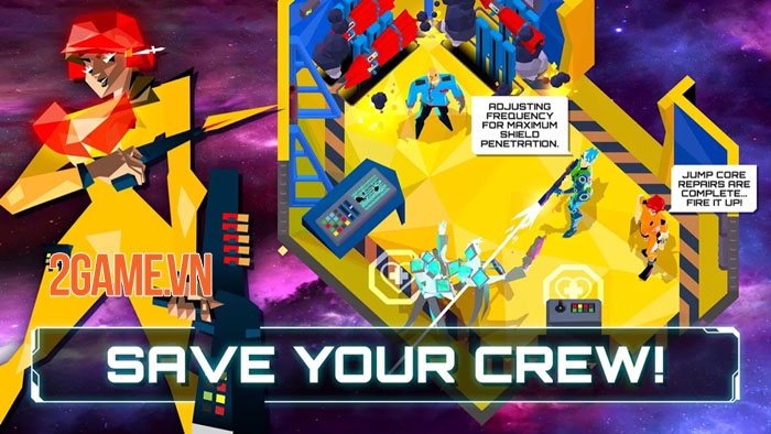 The Captain is Dead - Bản mobile của board-game khoa học viễn tưởng cùng tên 2