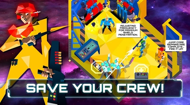 The Captain is Dead – Bản mobile của board-game khoa học viễn tưởng cùng tên