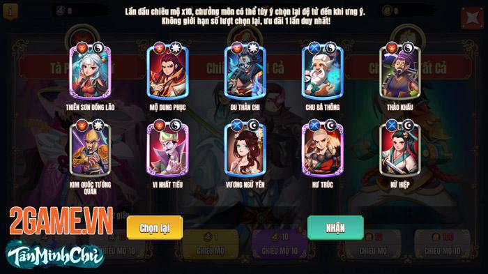 Tân Minh Chủ Mobile - Game thẻ tướng hot nhất để chơi ngày Tết 2