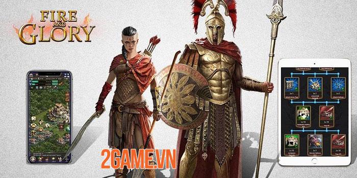 5 lí do nên thử chơi Fire and Glory - game chiến thuật bối cảnh Sparta 0