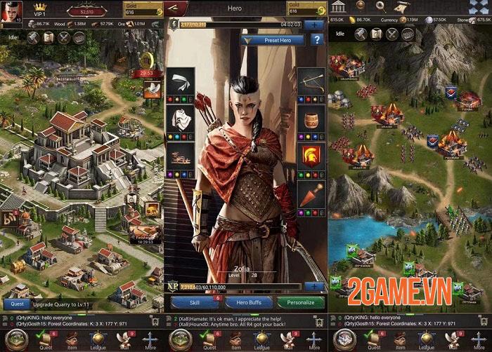 5 lí do nên thử chơi Fire and Glory - game chiến thuật bối cảnh Sparta 2