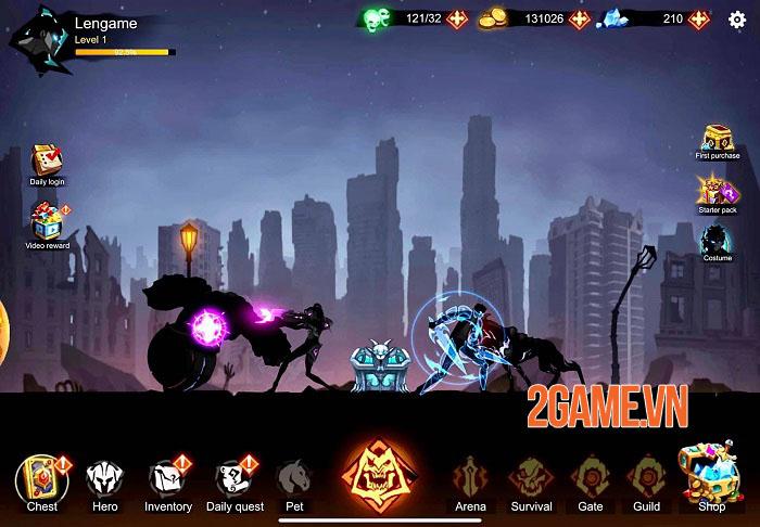 Shadow Lord: Solo Leveling - Game nhập vai hành động với những kĩ năng tuyệt đẹp 0