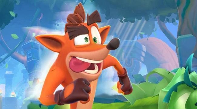 Crash Bandicoot – Game  auto-runner dựa trên IP đình đám