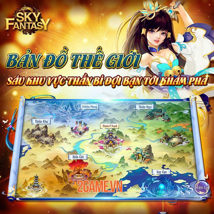 Sky Fantasy - Thiên Kiếm Truyền Kỳ: Game tu tiên với các trận đối kháng đỉnh cao 3