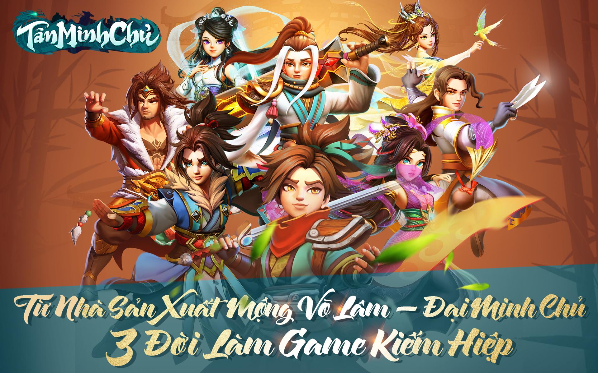 """Game Tân Minh Chủ chinh phục cộng đồng bằng 3 giá trị cốt lõi """"trân quý"""""""